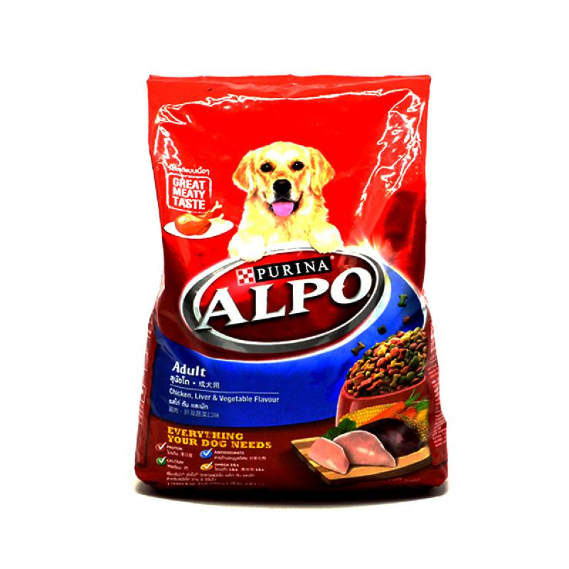 Alpo Adult Chkv+Lvr+Veg 1500 Gr