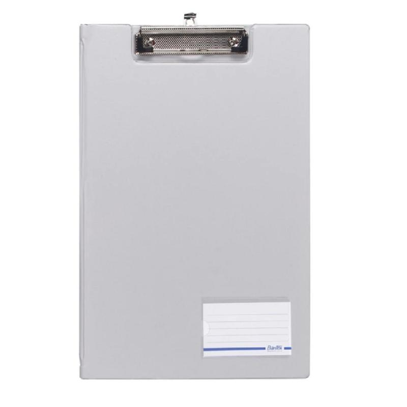 Bantex Clipboard With Cover Folio Grey -4211 05
