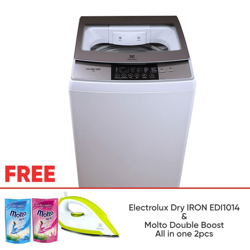Electrolux TOP LOAD WASHER 9KG Cyclonic Care EWT905 1100760 FREE IRON EDI1014 (1304297)