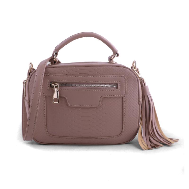 AliveLoveArts Isabel Hand-Sling Bags Pink