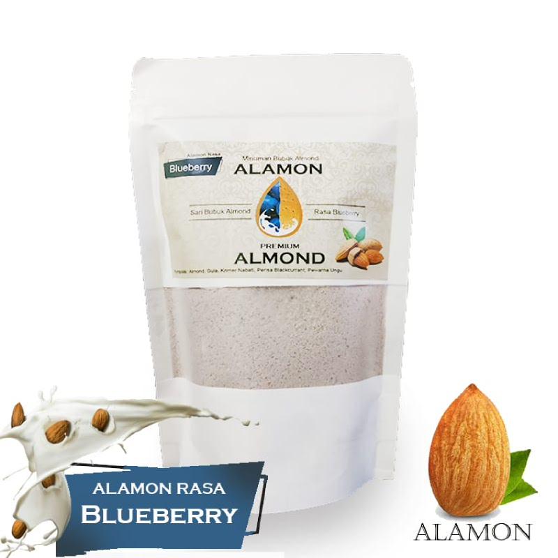 Alamon Milk Rasa Blueberry