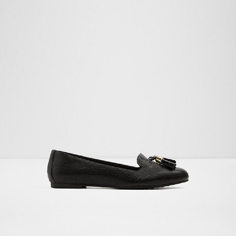 Aldo Ladies Flat Shoes Goilla 001 Black