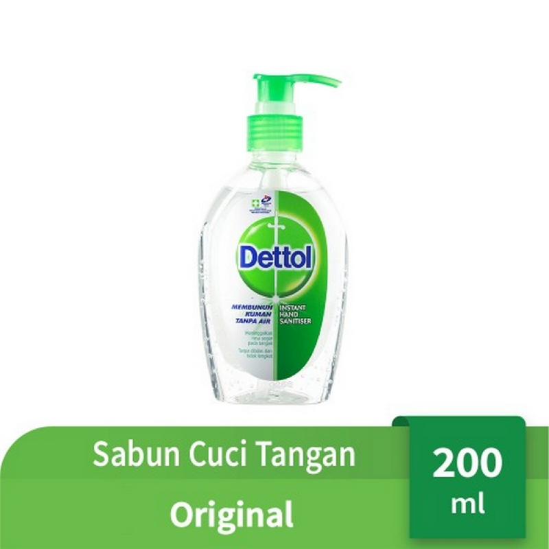 Dettol Hand Sanitizer Original Pump 200 ml