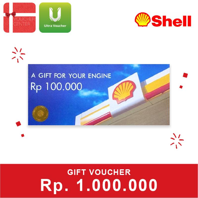 Shell Voucher senilai Rp.1.000.000
