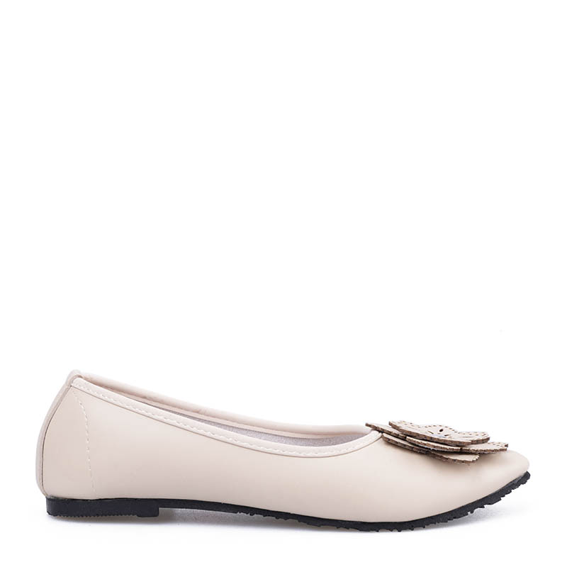 Anyolorich Flat Shoes BL02-Cream
