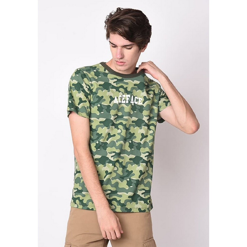 Skelly Aceface Camo Green
