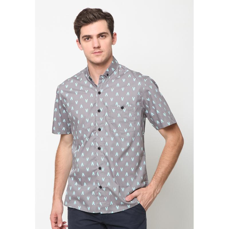 17Seven Shirts Shortshirt Scorpion Grey