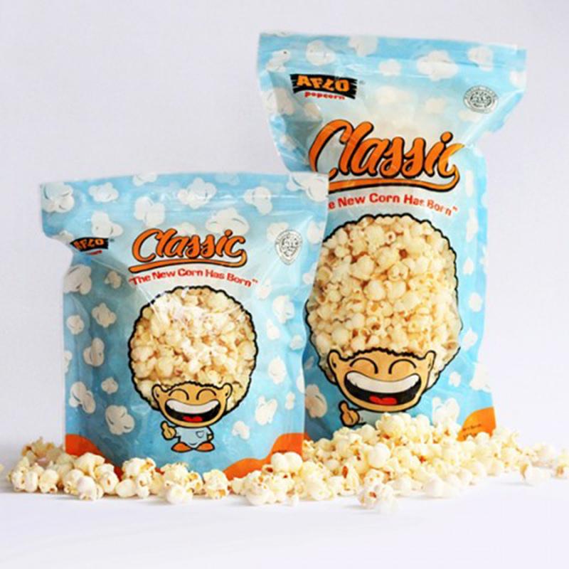 Alfo Popcorn - Aflo Classic Barberque 100 gr (isi 2 Pack)