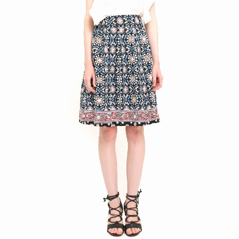 Swinky Skirt Navy Tiles