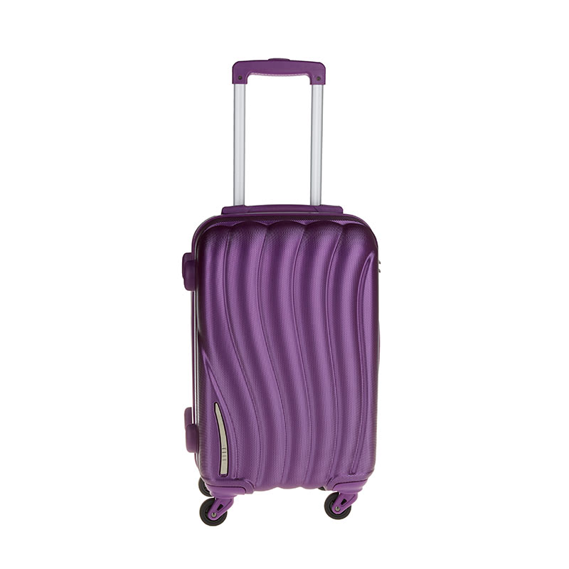 Elle Cabin Hardcase Luggage Size 20 inch 4 Wheels TSA Lock - Purple