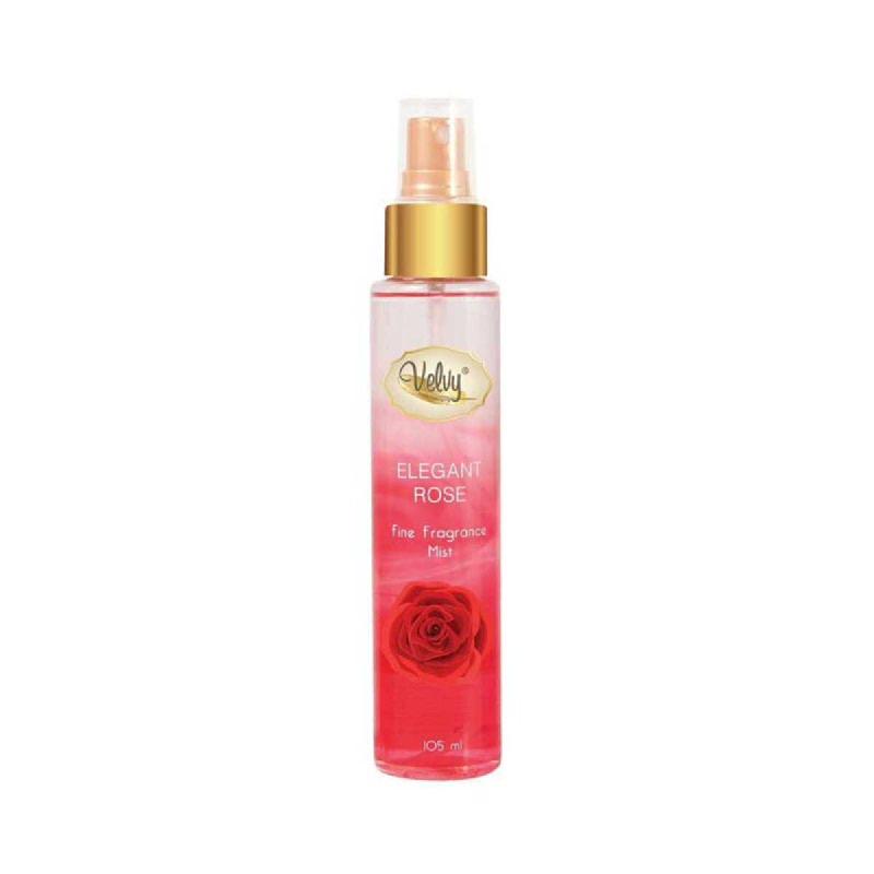 Velvy Fragrance Mist Elegant Rose 105 Ml
