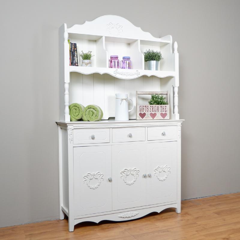 Rosemarry Wide Hutch Cabinet