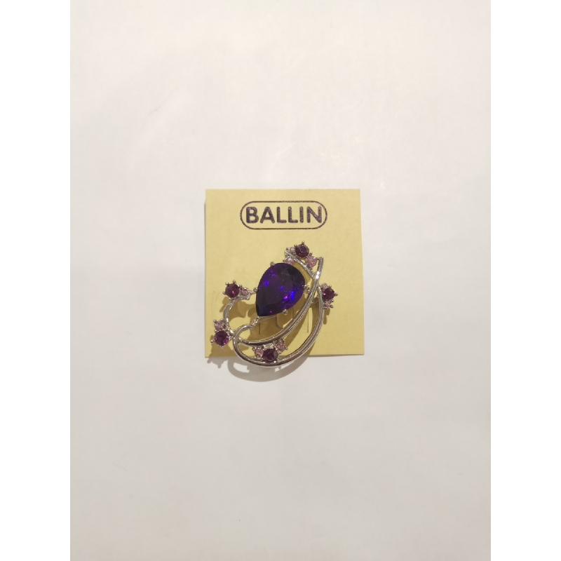 Ballin - Women Brooch BL BR001 Purple
