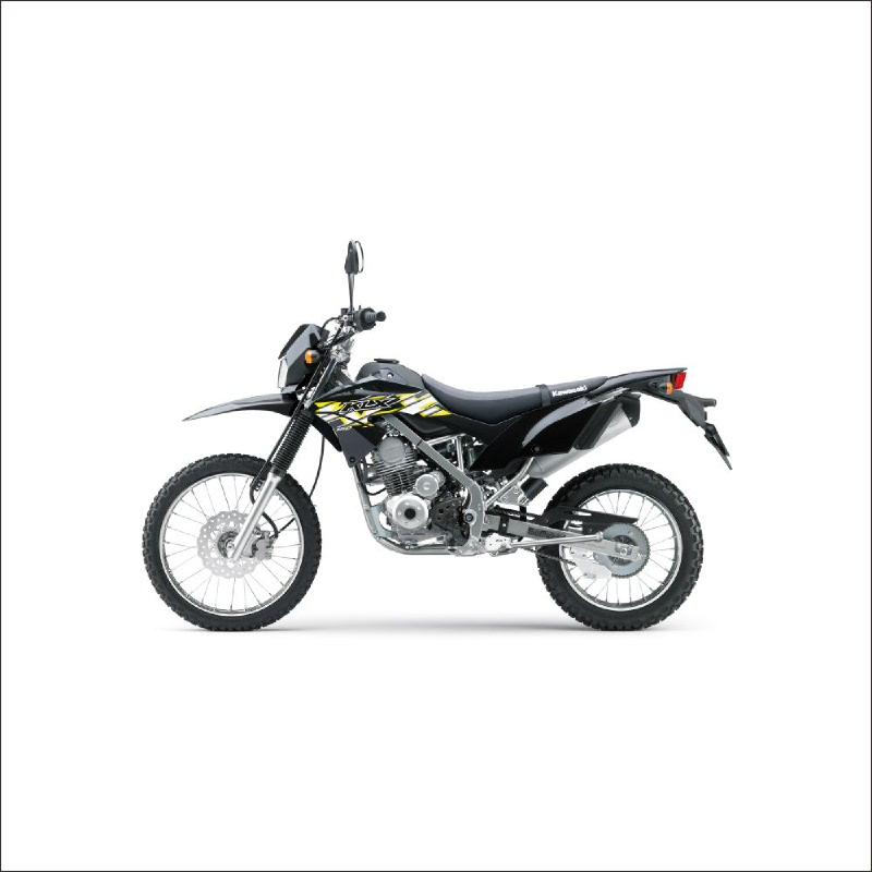 Kawasaki New Klx 150 Sepeda Motor - Hitam (detabekser) (VIN 2019)