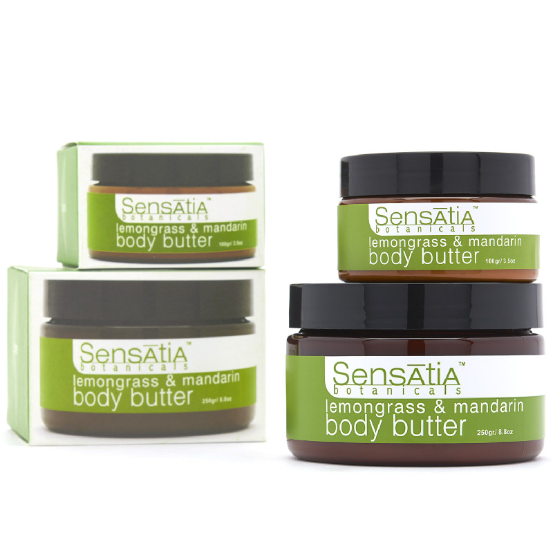 lemongrass & mandarin body butter - 100gr