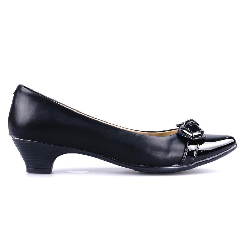 Ghirardelli Heels Cerise Black