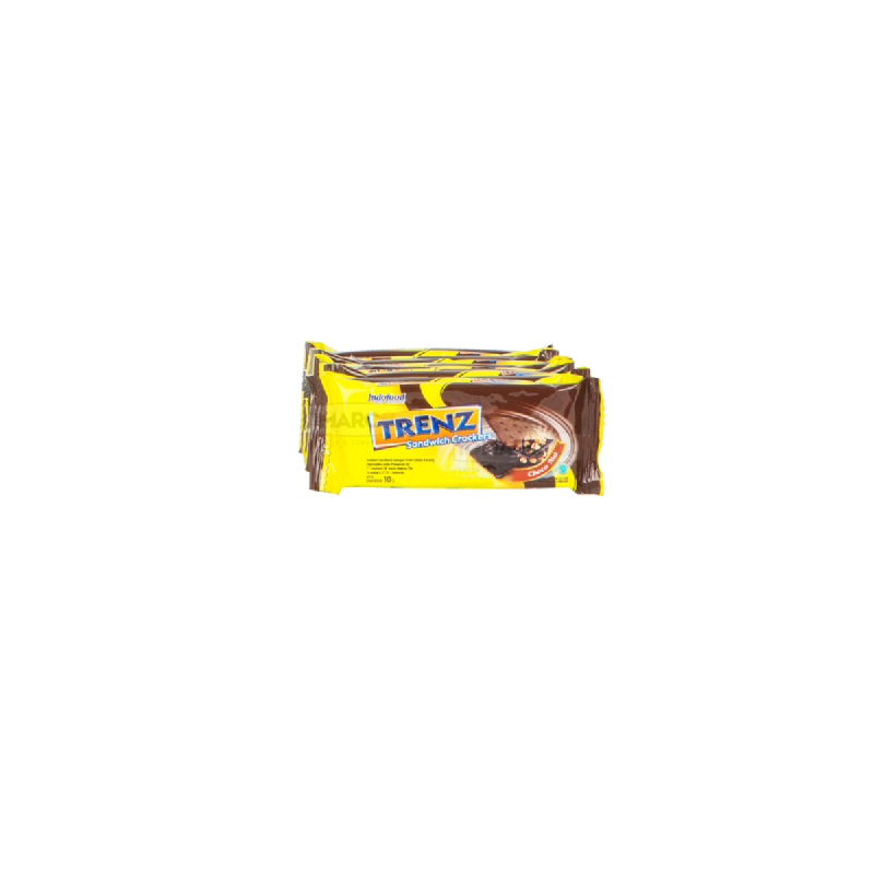 Trenz Sandwich Cokelat Kacang 10 gr - 1 karton (120 pcs)