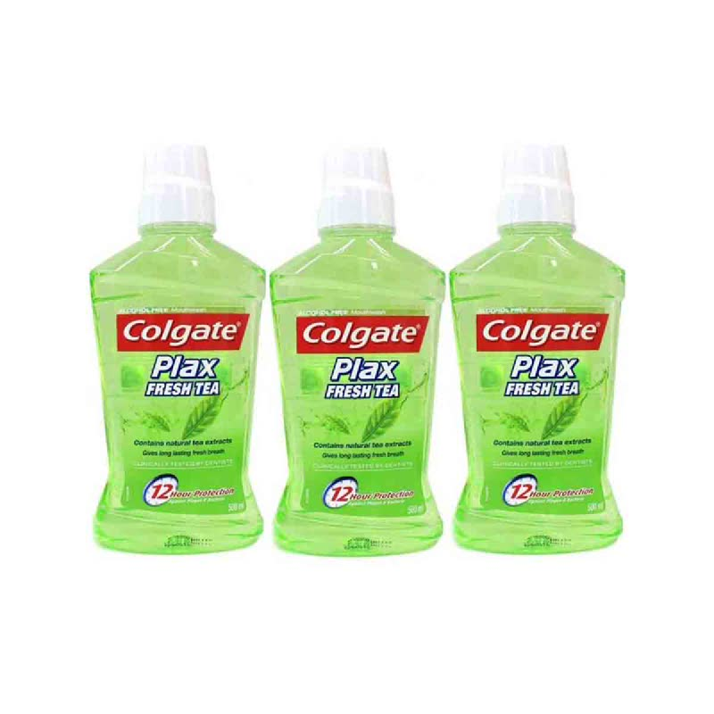 Colgate Mouthwash Plax Fresh Tea 250Ml (Buy 2 Get 1)