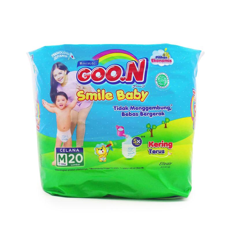Goo.N Smile Baby Diaper Pants M 20S
