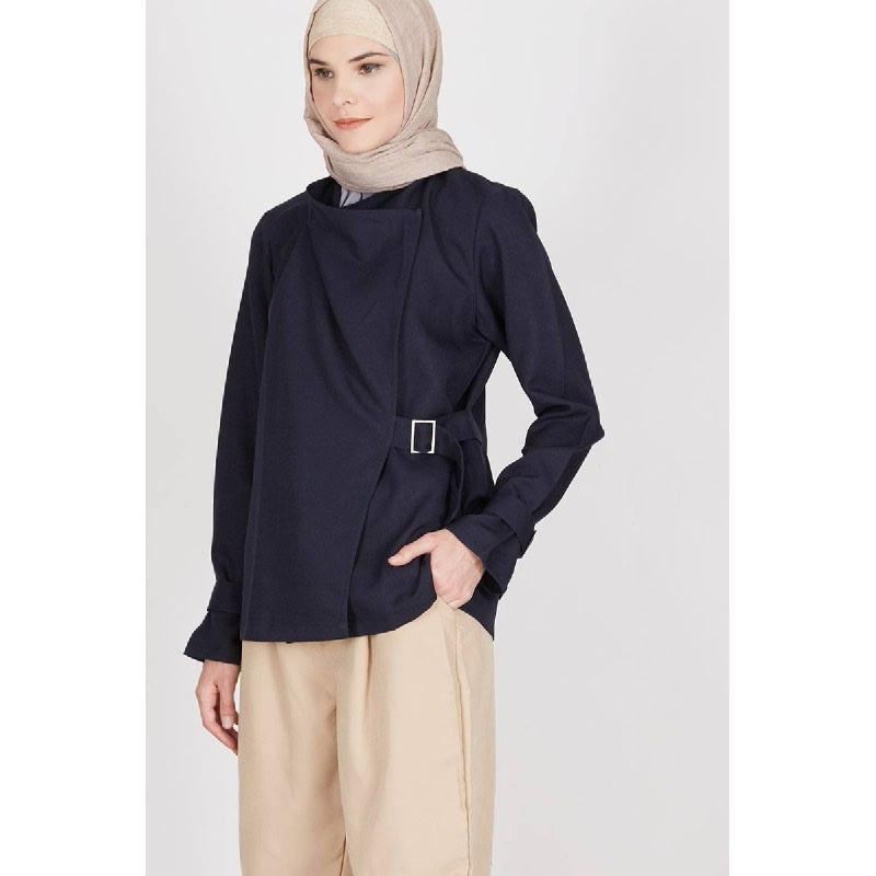 Oliver Warp Coat Blue