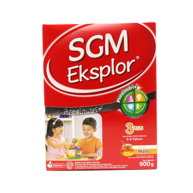 SGM Susu Bubuk Eksplor 3+ Madu Box 900Gr