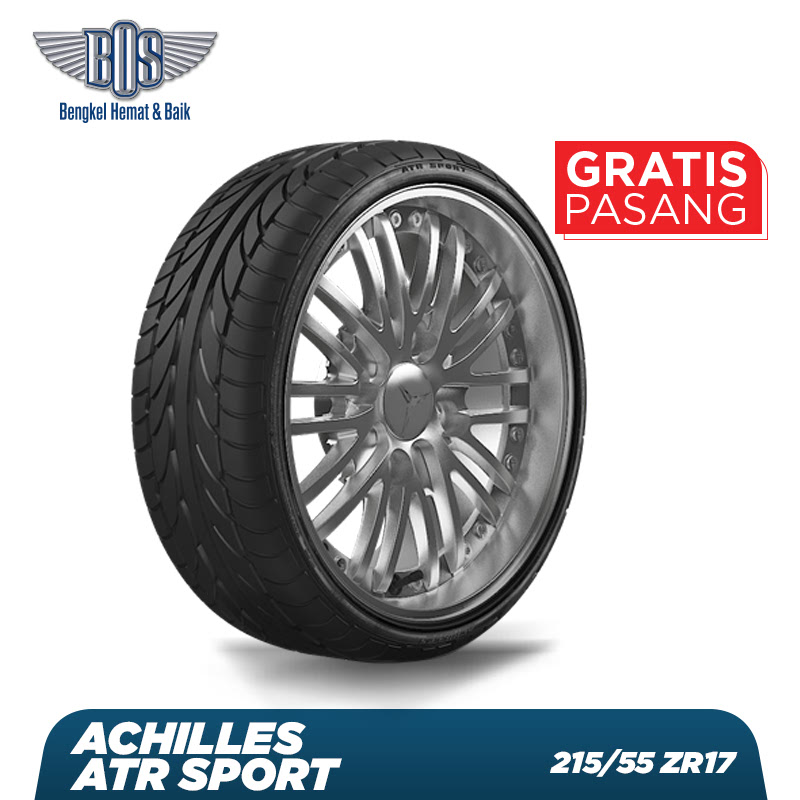 Achilles Ban Mobil  ATR Sport - 215-55 ZR17 94W - GRATIS JASA PASANG DAN BALANCING