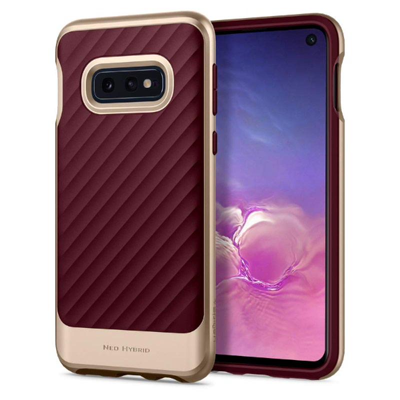 Spigen Galaxy S10e Case Neo Hybrid - Burgundy