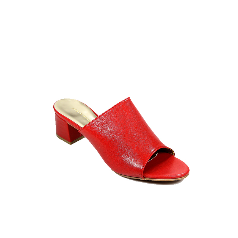 Andre Valentino Mules Sandal Red