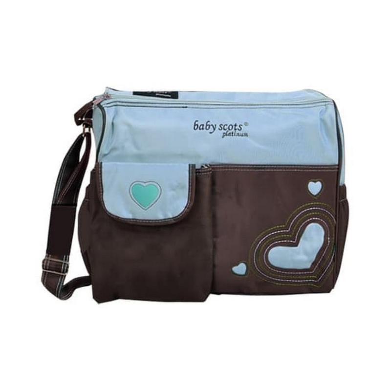 Baby Scots Platinum Scots Mommy Bag 003MB003 Biru