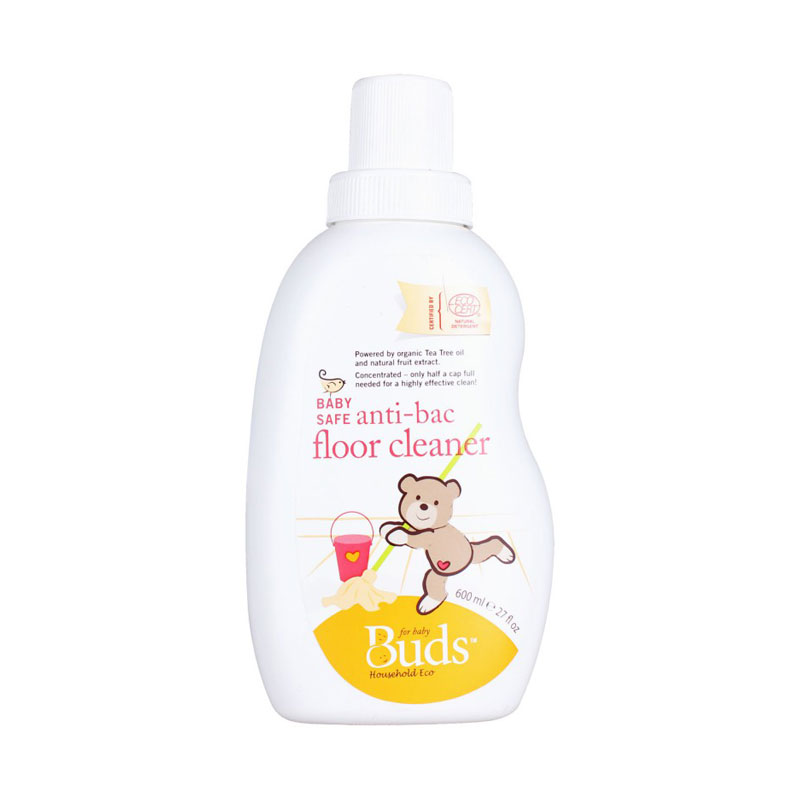 Buds Baby Safe Anti Bacterial Floor Cleaner [600 mL]