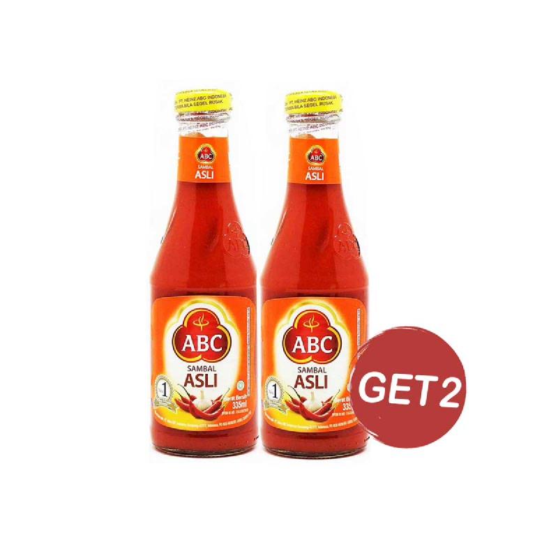 Abc Sambal Asli 335 Ml (Get 2)