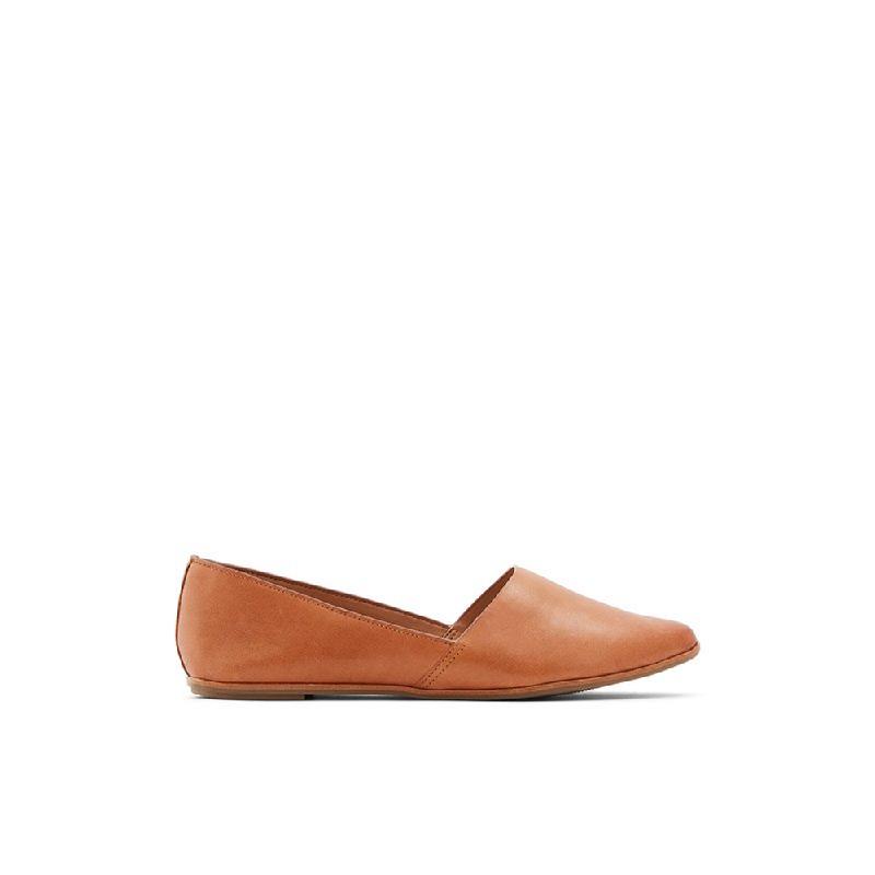 Aldo Ladies Flat Shoes Blanchette 210 Medium Brown