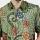 Batik Muda Hemd Sutra Pekalongan Shirt Green