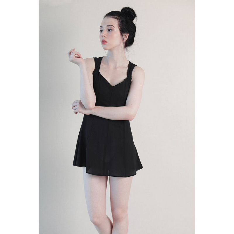 Llaces Clothing Revolve Dress Black