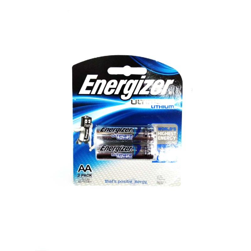 Energizer Baterai Lithium E2X E92 AAA BP2
