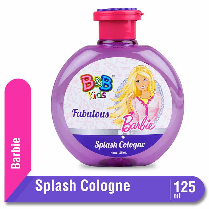 B&B Kids Barbie Splash Cologne Fabulous 125 Ml