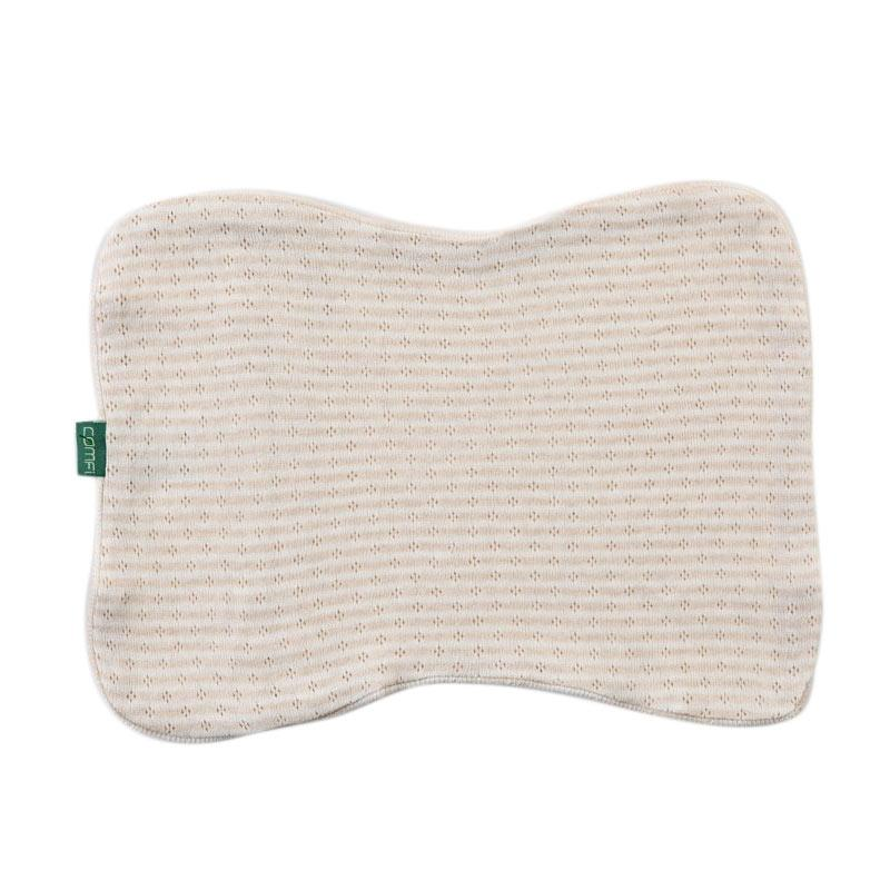 Comfi Sarung Bantal Organic Pillow Case Newborn Cream