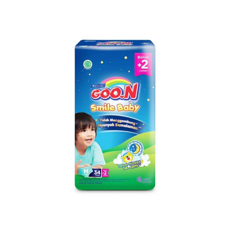 Goon Smile Popok Bayi Night Pants M 34+2S