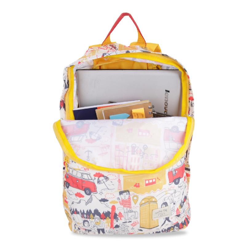 Exsport Fernweh 2445X Foldable Backpack - Yellow