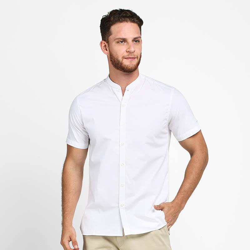 Mon Akita Koutaro Men Shirt White