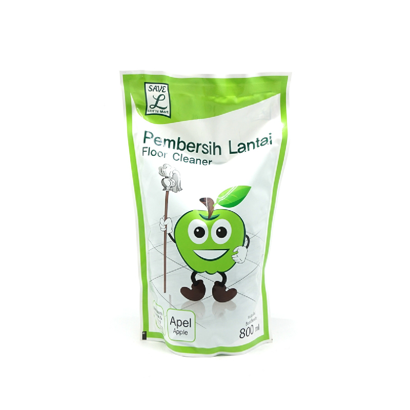 Save L  Floor Cleaner Apple Pouch 800 Ml