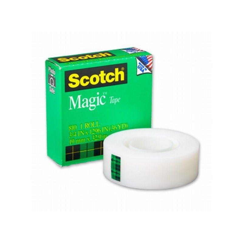 3M 810 Magic Tape (isolasi) 1-2 x 36Y (eceran)