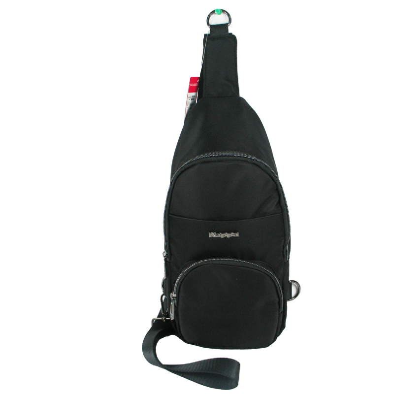 Kappa KJ4MB906 Crossbody Chest Sling Bag -Black
