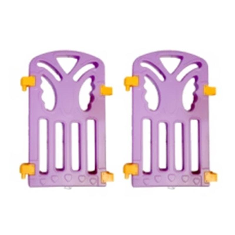 Coby Haus Fence Panel Butterfly Pagar Pengaman Bayi - Purple