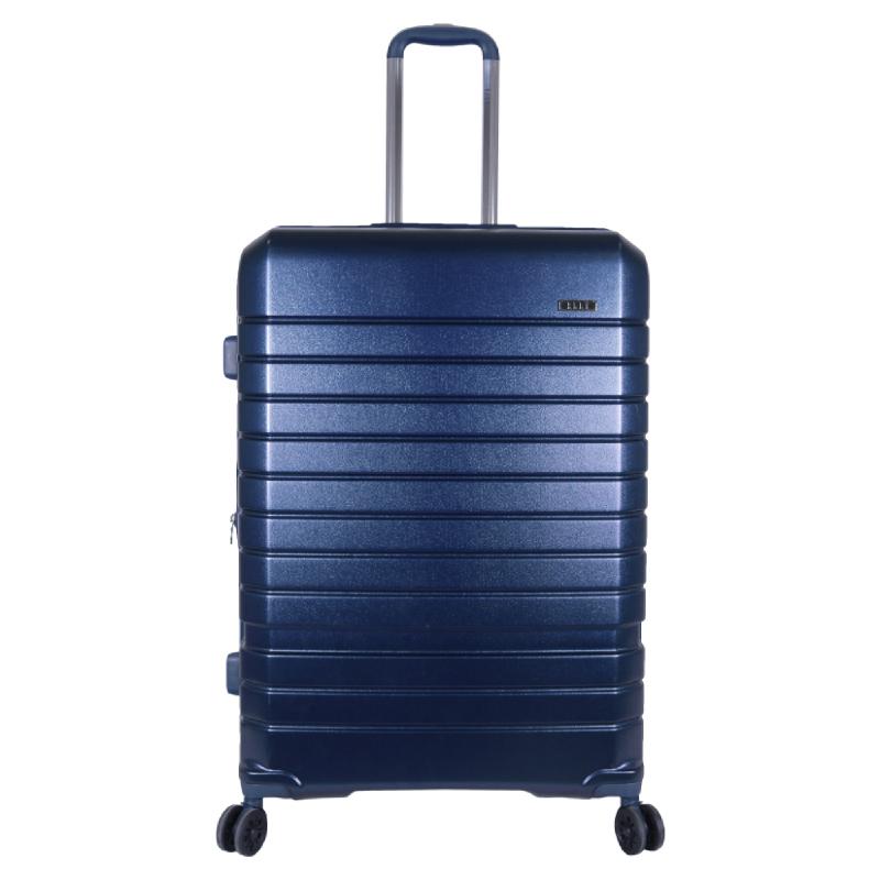 Elle Luggage Hardcase size 28 inch 4 Wheels TSA Lock Anti Theft Blue