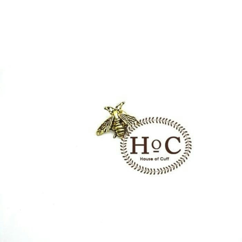 House Of Cuff Lapel Pin Bros Jas Fly Bronze Lapel Pin