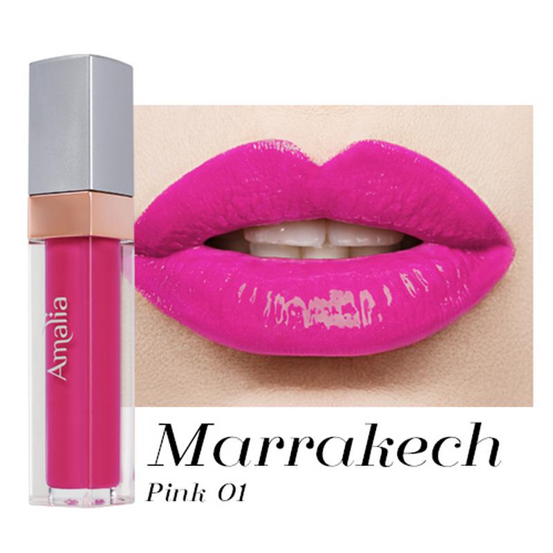 Amalia Glossy Lip Cream Marrakech Pink 01