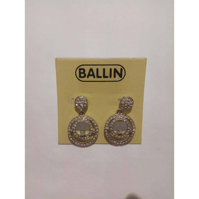 Ballin Women Earing YZ-E593S Silver