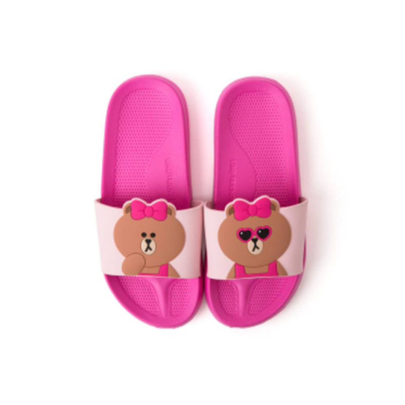 Choco Two Face Slipper