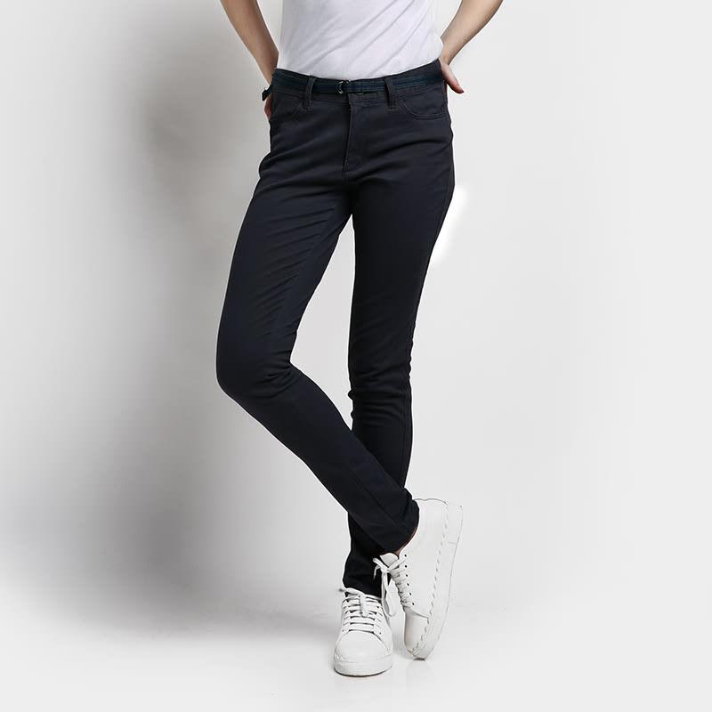 GIORDANO  Celana Panjang Wanita 08 Signature Grey